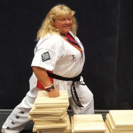 Fay Shacklock, 62, ready to prove herself internationally yet again