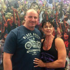 Paul and Karen Jeffrey - Indoor Rowing