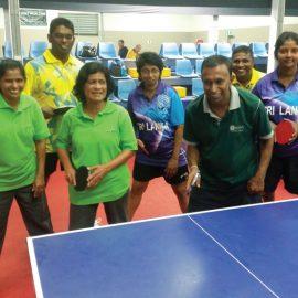 SriLanka - Table Tennis